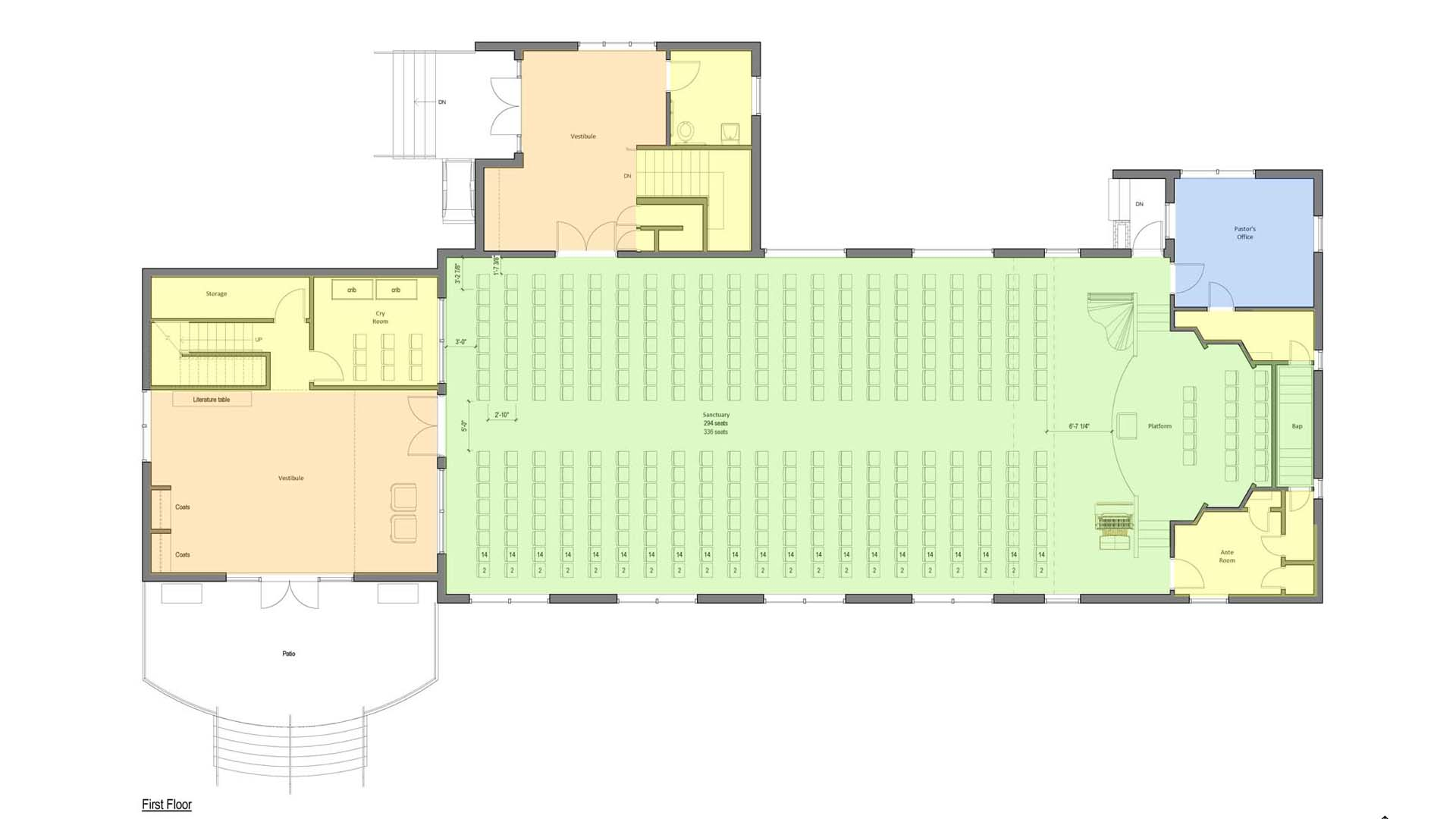Colored Floor Plan Copy