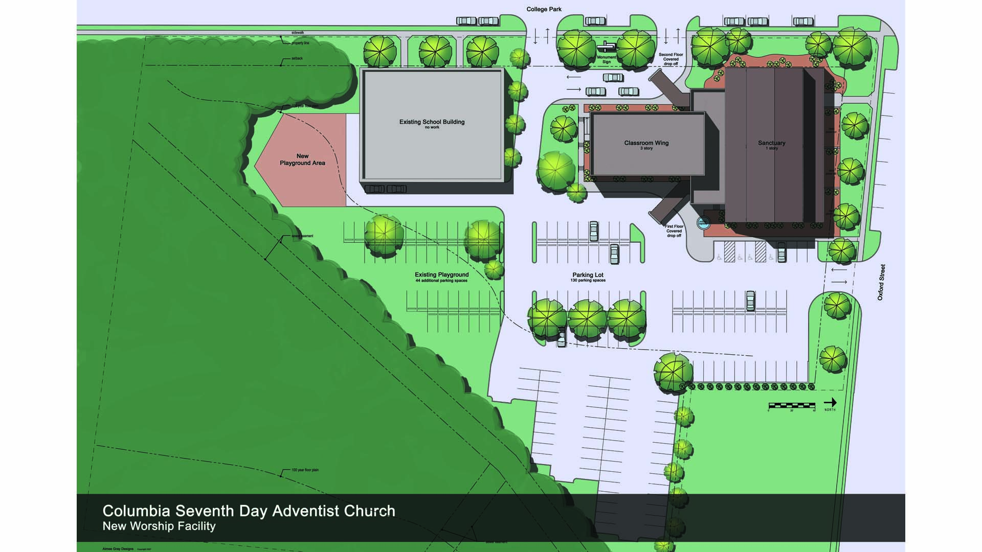 A3G Architects – Rendered Site Plan